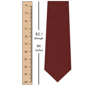 82.1 through 84 Inches (208.4 through 213.4 Centimeters) Tie Length