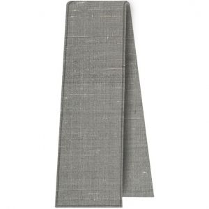 Gray Thai Rough Silk Tie Scarf #3