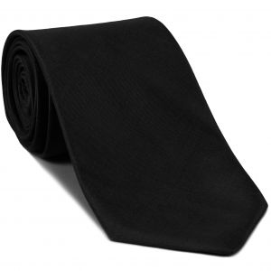Black Shot Thai Silk Tie #20