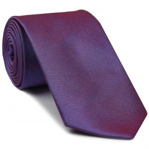 Blueish Red Shot Thai Silk Tie #3