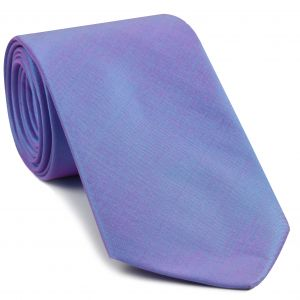 Pinkish Turquoise Shot Thai Silk Tie #4