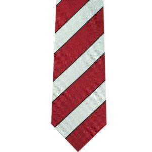 British Stripe Direction Tie
