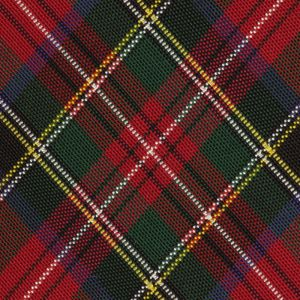 Atkinsons Royal Stewart Tartan Irish Poplin Tie #9