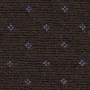 Sky Blue on Camel Pattern Wool Tie # 4