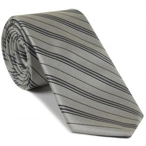 Formal/Wedding Silk Stripe Tie #5