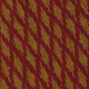 Gold on Red with Black Mudmee Silk Tie #13