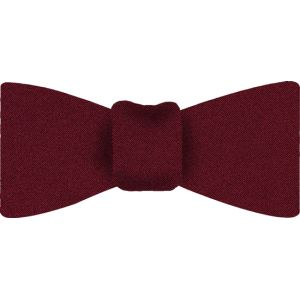 Red Satin Silk Bow Tie #10