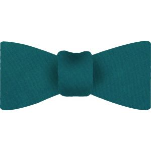 Turquoise Shot Thai Silk Bow Tie #11