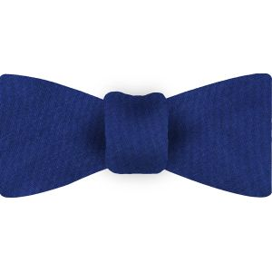 Dark Blue Shot Thai Silk Bow Tie #12