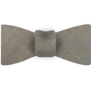 Light Brown Shot Thai Silk Bow Tie #17