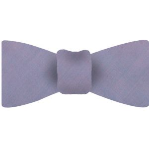 Pink With Turquoise Shot Thai Silk Bow Tie #23