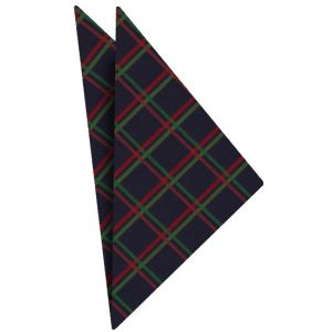 Atkinsons Plaid Irish Poplin Bow Tie #3Atkinsons Plaid Irish Poplin Pocket Square #3