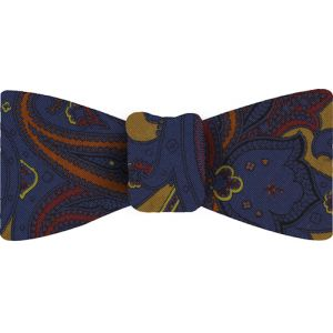 Atkinsons Printed Irish Poplin Bow Tie #11
