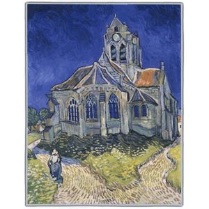 Van Gogh The Church at Auvers 1890 Rectangles #3B