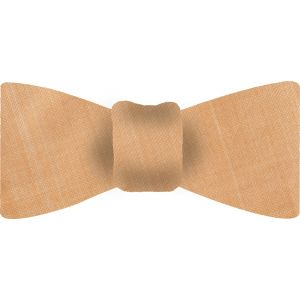 Cream Thai Shot Silk Bow Tie #46