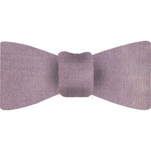 Black / Light Pink Thai Shot Silk Bow Tie #48