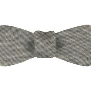 Gray Thai Shot Silk Bow Tie #49