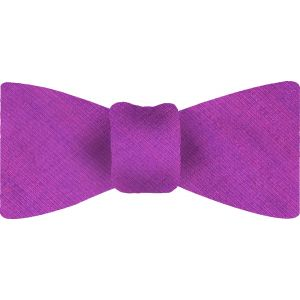 Blue / Pink Thai Shot Silk Bow Tie #54