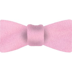 Light Pink Thai Shot Silk Bow Tie #59