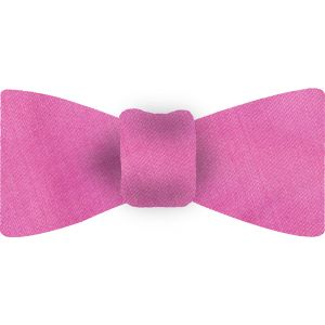 Dark Pink Thai Shot Silk Bow Tie #60