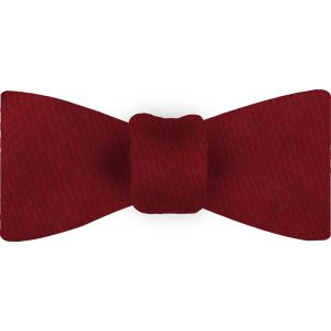 Dark Red Thai Shot Silk Bow Tie #62