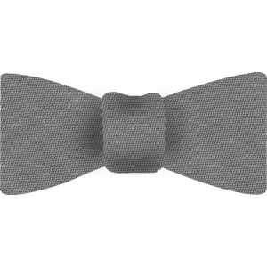 Light Charcoal Thai Shot Silk Bow Tie #66