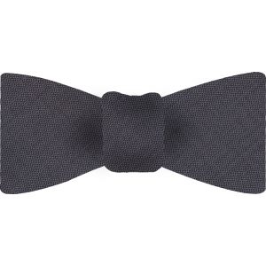 Dark Charcoal Thai Shot Silk Bow Tie #67