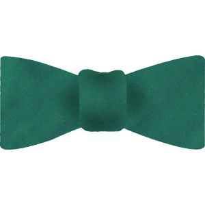 Medium Turquoise Thai Shot Silk Bow Tie #70