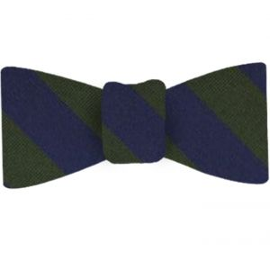 Inns of Court O.T.C. Stripe Silk Bow Tie #UKLBT-1
