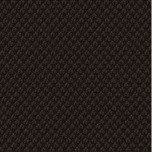 Dark Chocolate Cashmere Black Warp Pocket Square #ECP-24