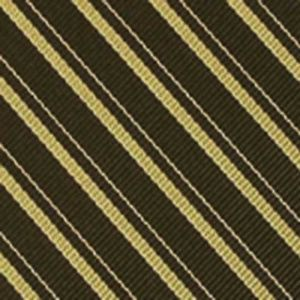 Lime Green & White on Dark Olive Reppe Stripe Silk Pocket Square #RSP-23