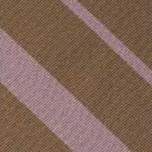 Brown & Pink Reppe Stripe Silk Pocket Square #RSP-31