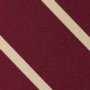 St Edmund Hall Oxford Stripe Silk Pocket Square #UKUP-5