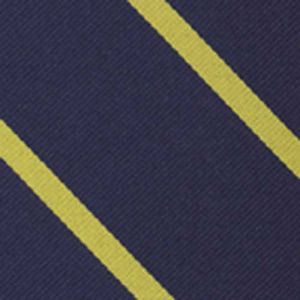 University College Oxford Stripe Silk Pocket Square #UKUP-1