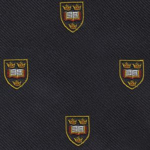 Oxford University Crest Silk Pocket Square #UKUP-15