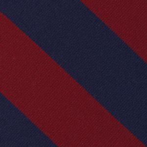 Sidney Sussex College Cambridge Stripe Silk Pocket Square #UKUP-38