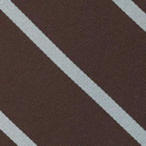 New College Oxford Stripe Silk Pocket Square #UKUP-7