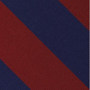 University of Pennsylvania Silk Bow Tie #ACOBT-7 (Dark Red & Blue)