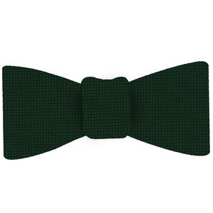 Forest Green Diamond Weave Silk Tie #DT-7