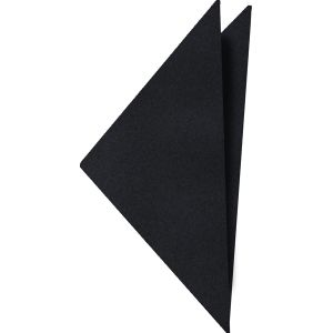 Midnight Blue Satin Silk Pocket Square