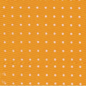 Off-White on Yellow Gold Macclesfield Silk Tie #MCT-185