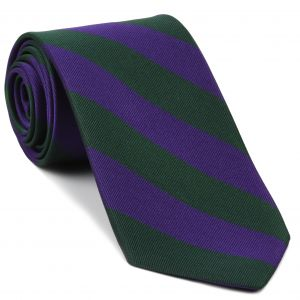The Highland Brigade Stripe Silk Tie # 34