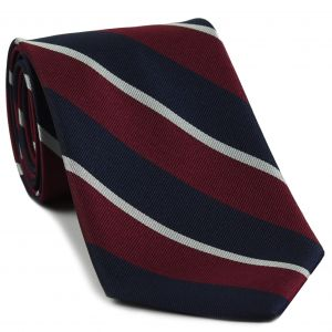 Royal Air Force Stripe Silk Tie #4