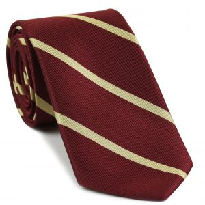 St Edmund Hall Oxford Stripe Silk Tie # 5