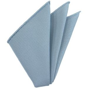Sky Blue Piccola Grenadine Silk Pocket Squares # 10