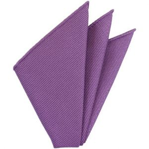 Magenta Piccola Grenadine Silk Pocket Squares # 20
