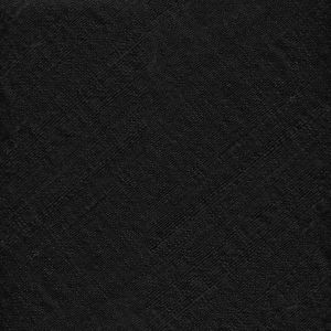 Black Thai Rough Silk Pocket Square #10