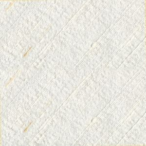 Natural White Large Slubs Rough Thai Silk Pocket Square #1