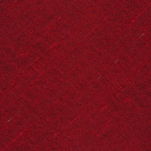 Red Thai Rough Silk Pocket Square #8