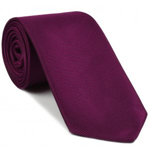 Purple/Red Large Twill Silk Tie #5